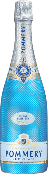 Champagne Pommery Royal Blue Sky Extra Dry + Gift Box